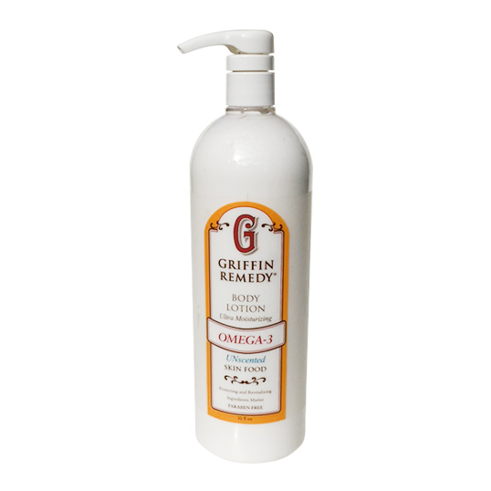 Griffin Remedy Omega-3 Unscented Body Lotion 32 Oz