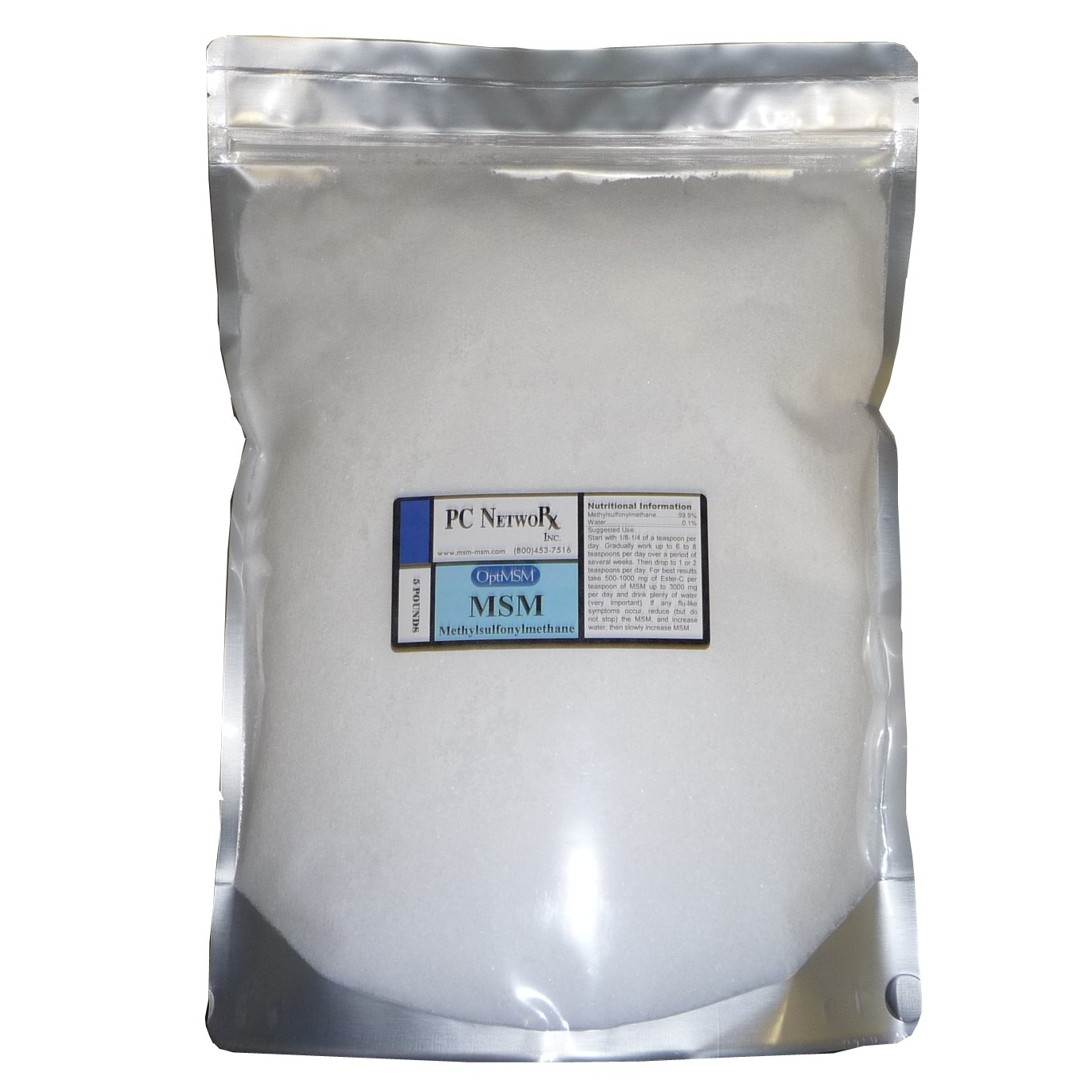 5 lb OptiMSM® Small Flakes