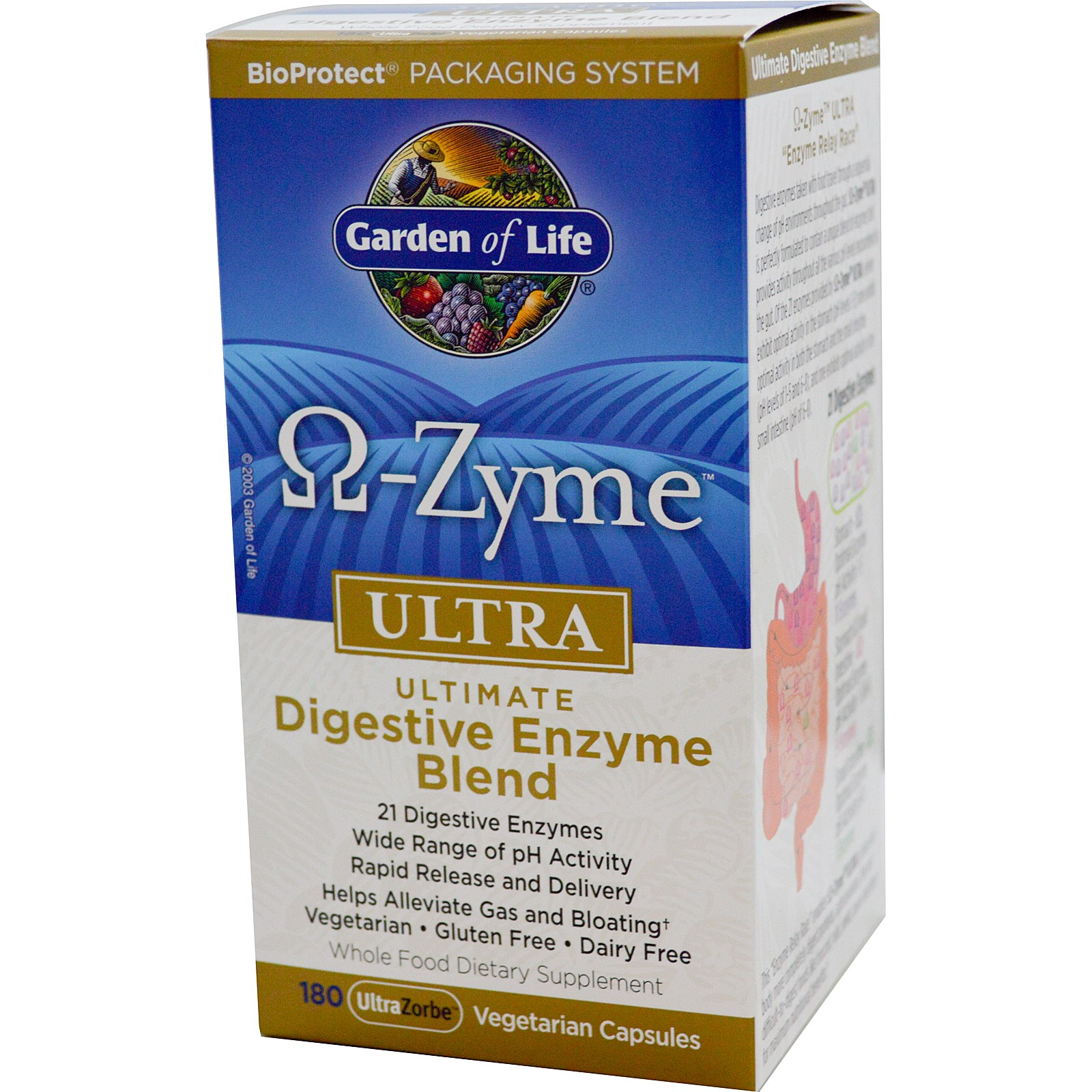 180 Count Omega-Zyme Ultra