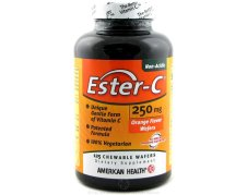 125 Count Ester-C Chewable Wafers 250 mg