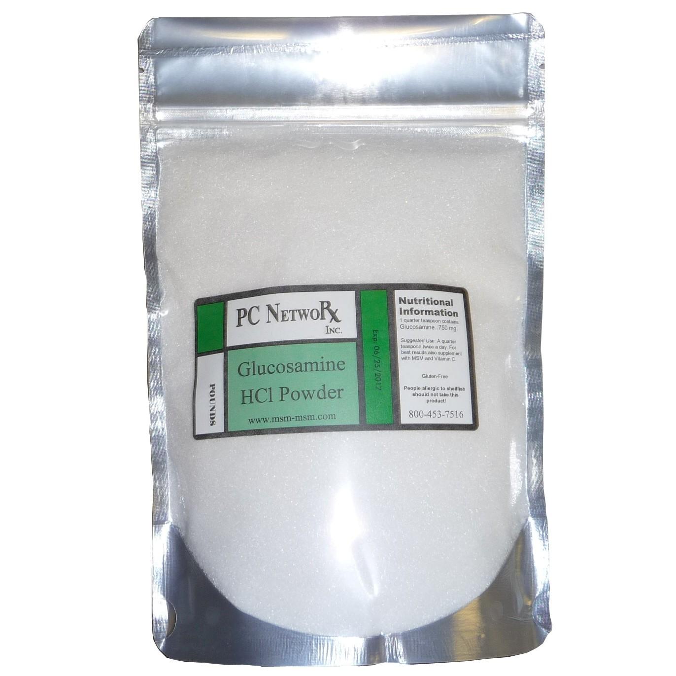 Half Pound Bulk Glucosamine HCl Powder