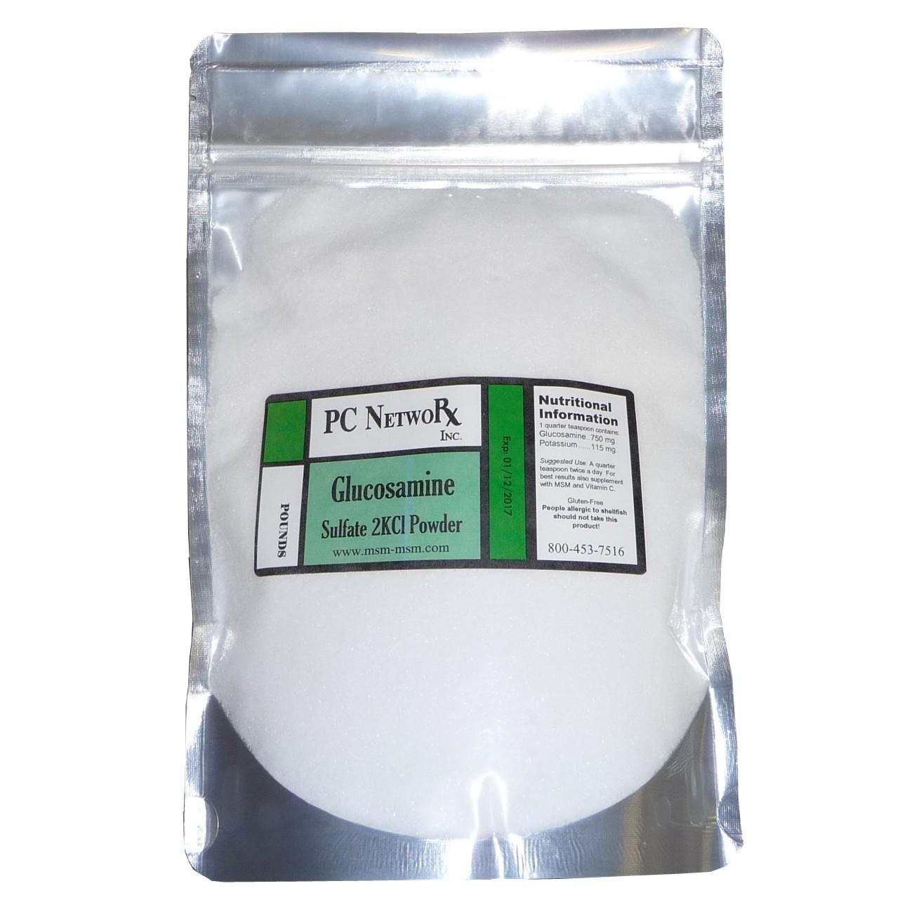 1 lb Glucosamine Sulfate Powder