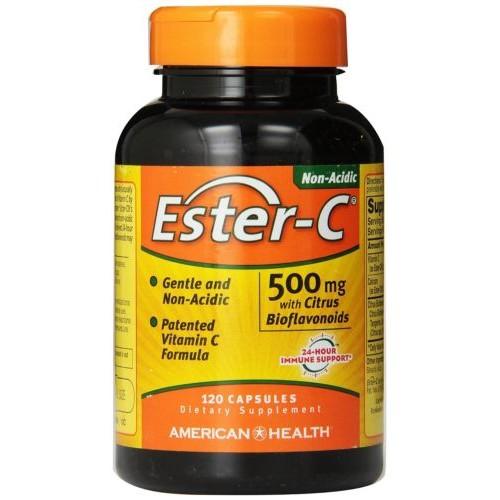 120 ct 500 mg Ester-C Capsules