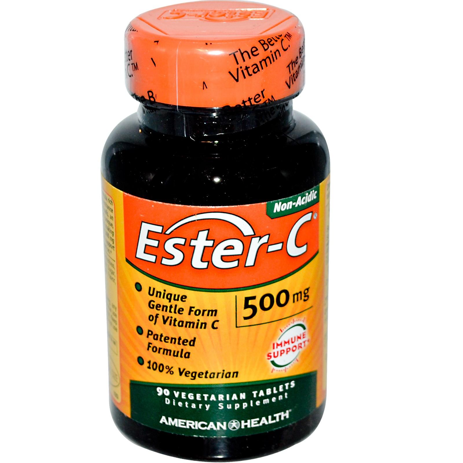 90 ct 500 mg Ester-C Tablets