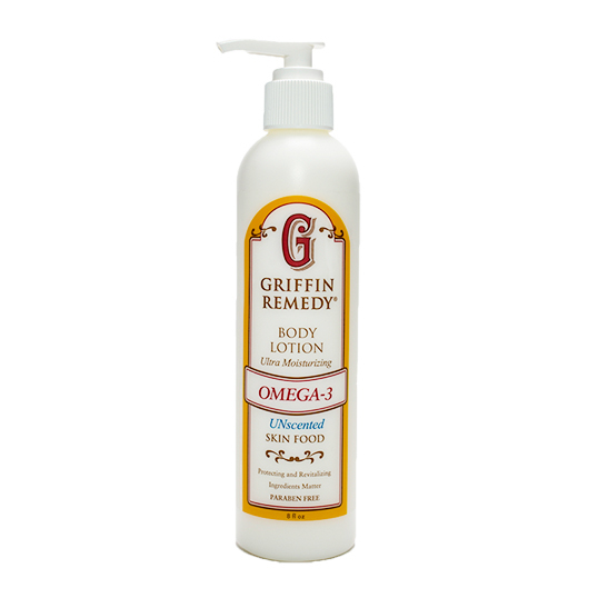 Griffin Remedy Omega-3 Unscented Body Lotion 8 Oz